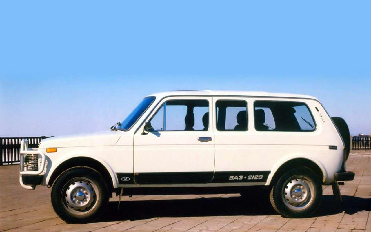 Lada 4x4: лучшее, что сней произошло за42года— фото 961013