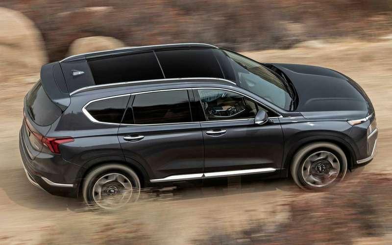 Hyundai Santa Feполучил новые моторы икоробки