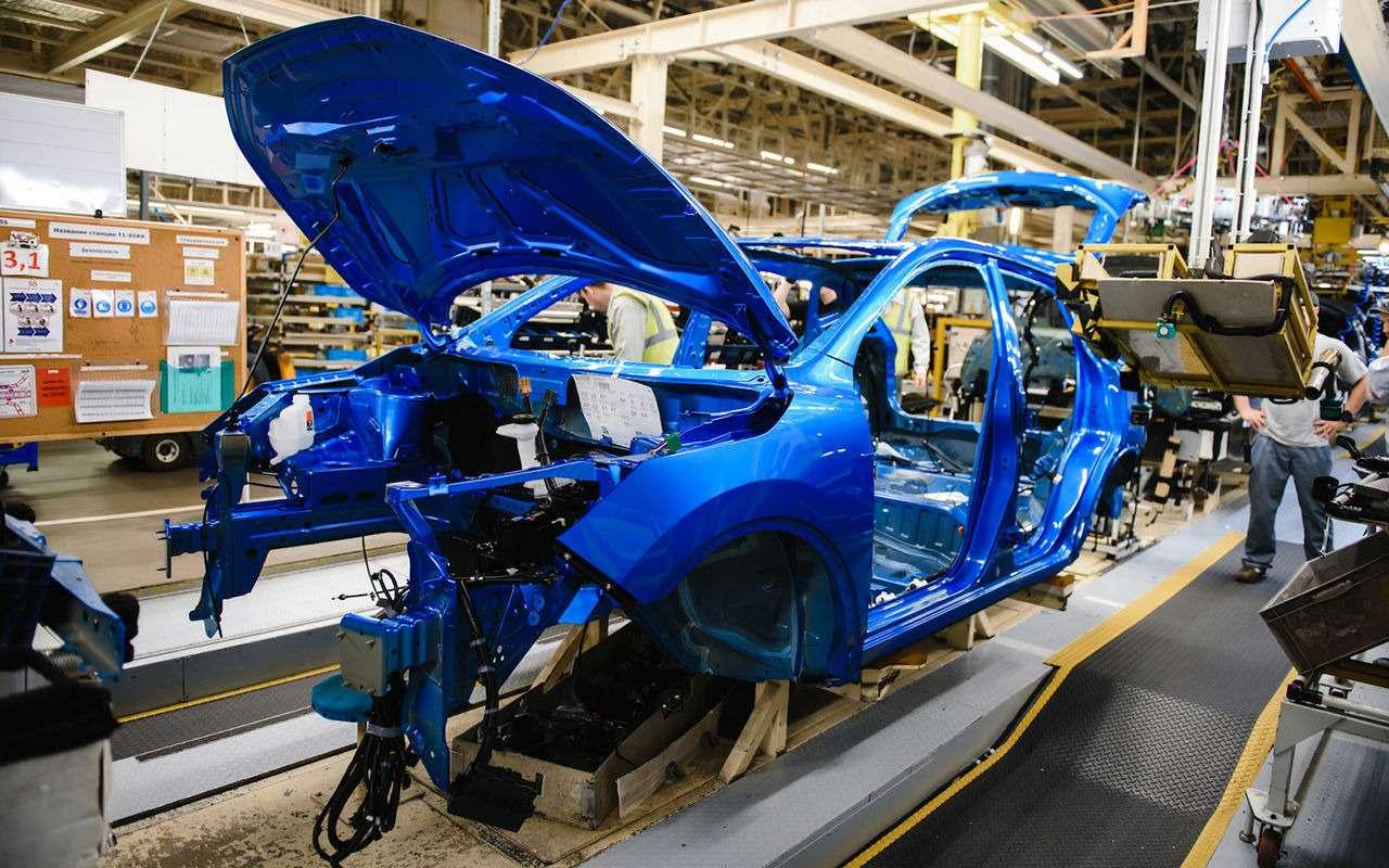 Первый обновленный Qashqai сошел сконвейера российского завода Nissan— фото 947111
