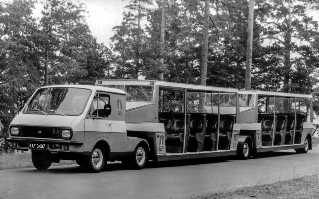 Тотсамый «рафик»: полная история главного микроавтобуса СССР— фото 1218813