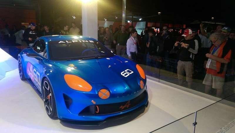 Прототип Renault Alpine Celebration вЛе-Мане