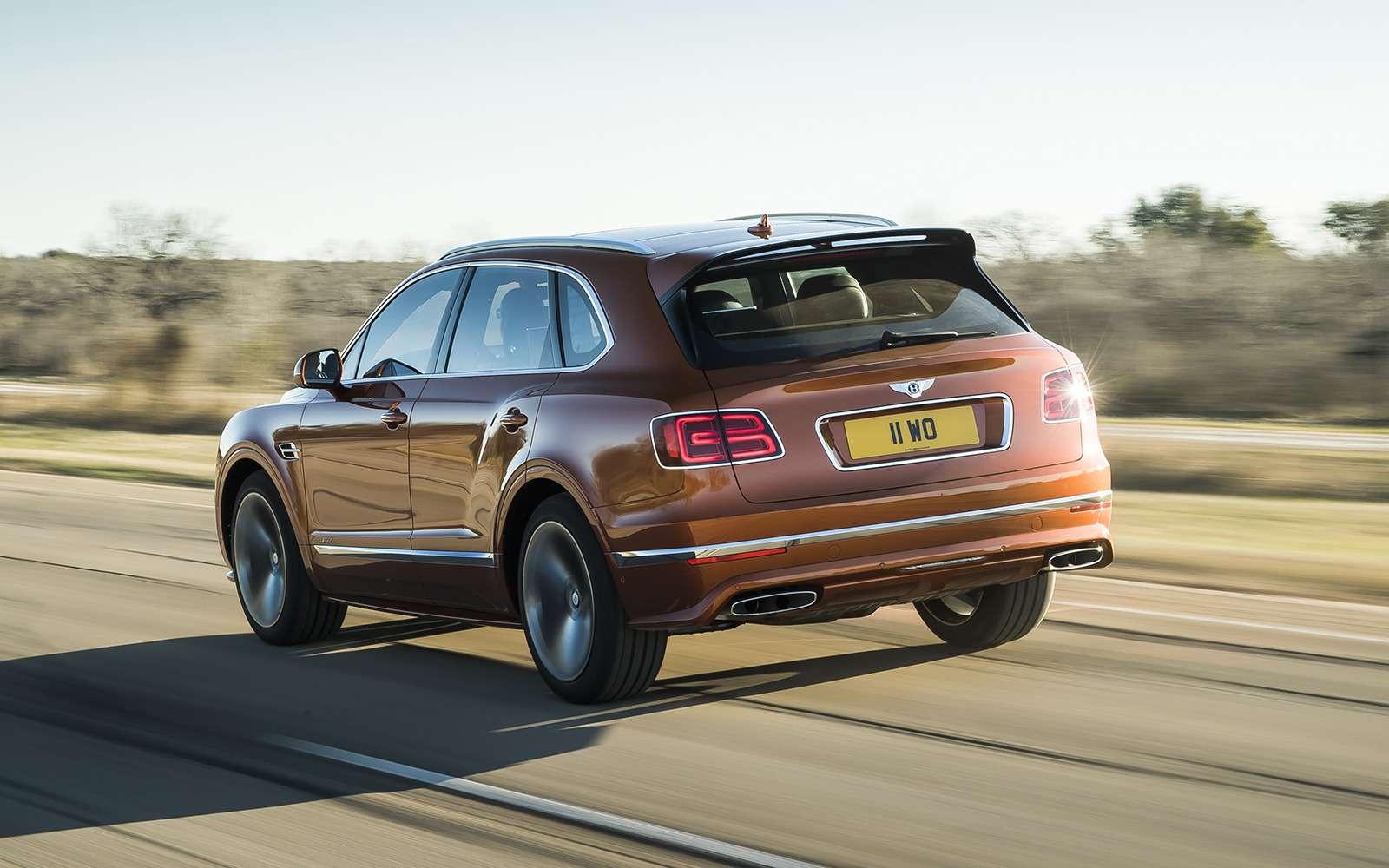 Самый быстрый внедорожник— теперь это Bentley— фото 949166