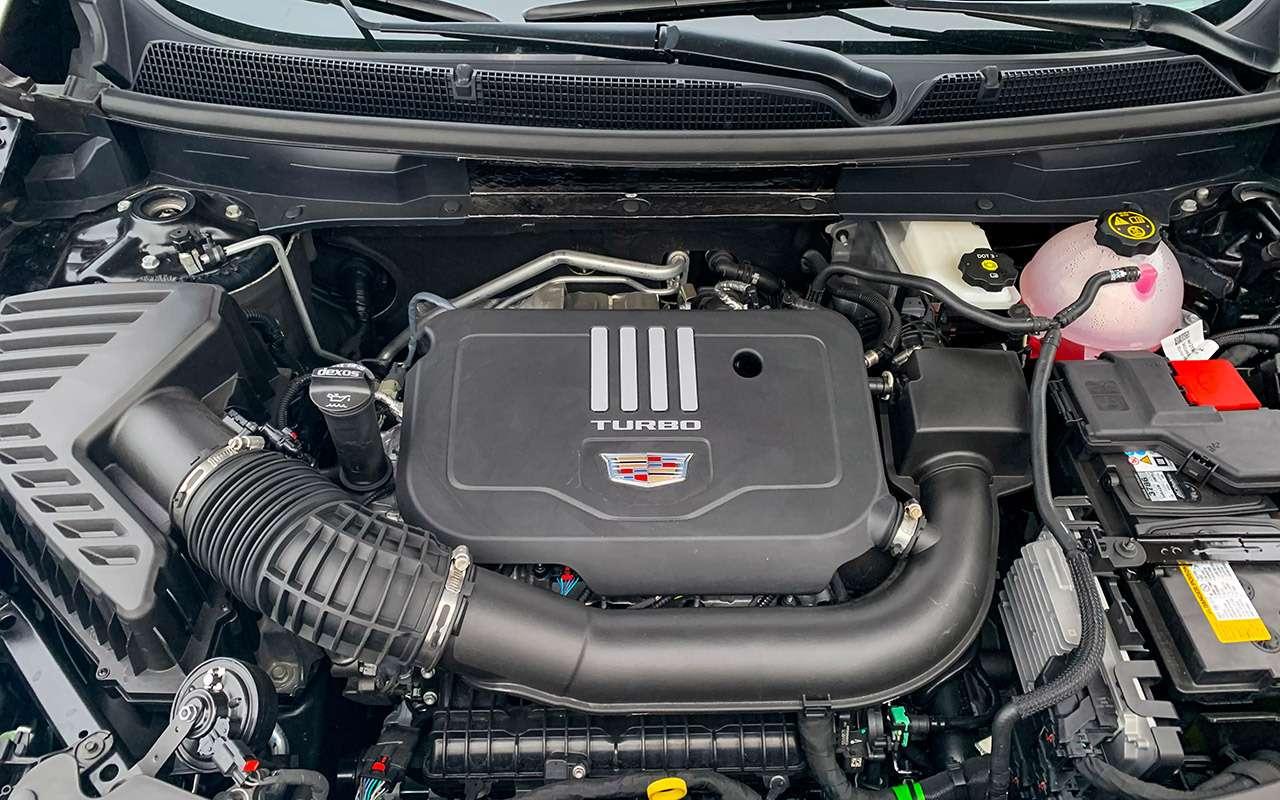Новый кроссовер Cadillac ивсе его козыри— фото 1083596