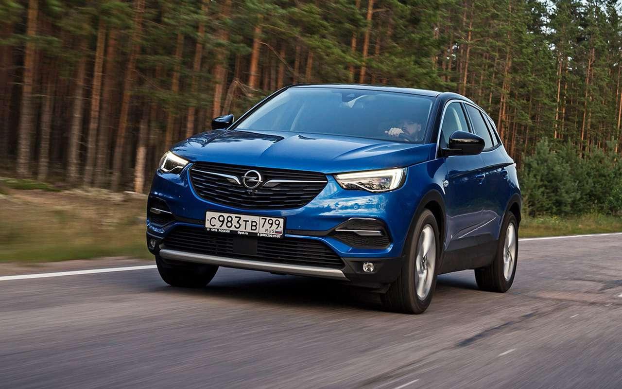 Opel Grandland X— честный иподробный тест-драйв— фото 1240079