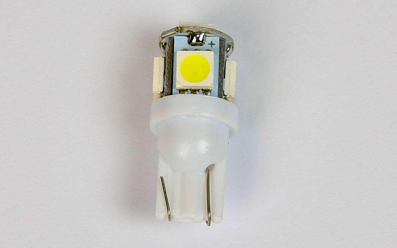 Выбираем лампы длягабаритных огней— экспертиза ЗР— фото 790794