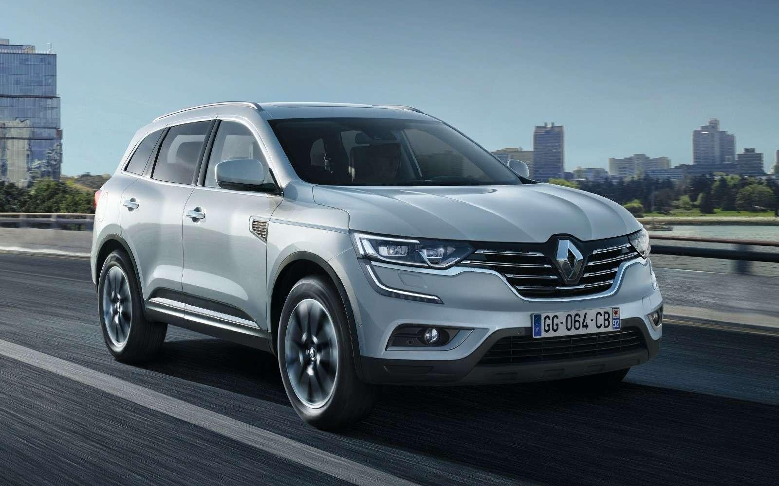 Новый Renault Koleos: только 5мест икитайская сборка— фото 580039