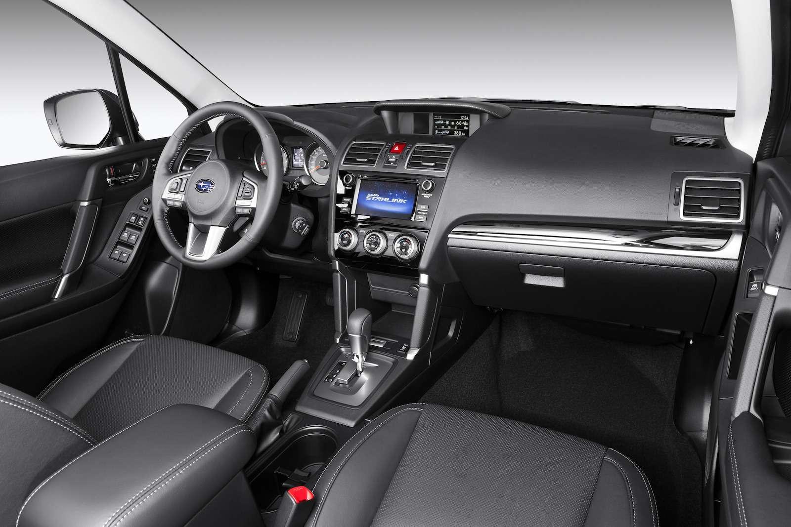 Обновленный  Subaru Forester: тише едешь...— фото 594329