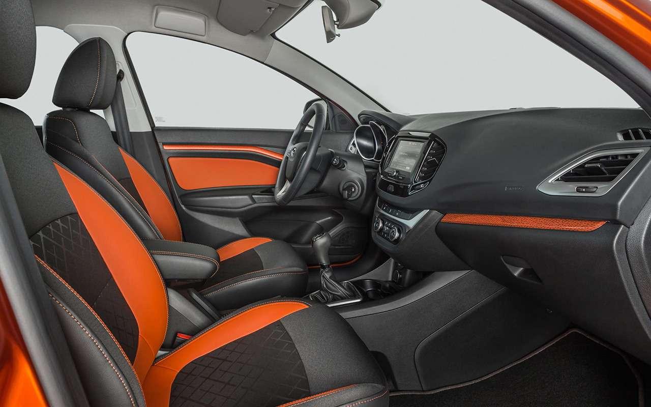KiaRio X-Line иLada Vesta SWCross— что выбрать?— фото 826073