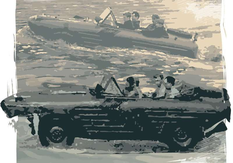 Водоплавающий Москвич-410