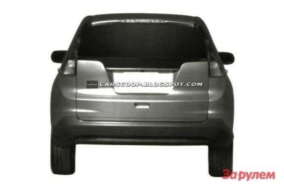 NewHonda CR-V rear view
