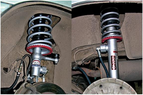 Всеамортизаторы ипружины SS20 подобраны поусилию ижесткости ипродаются только парами (слева передний, справа задний амортизатор).