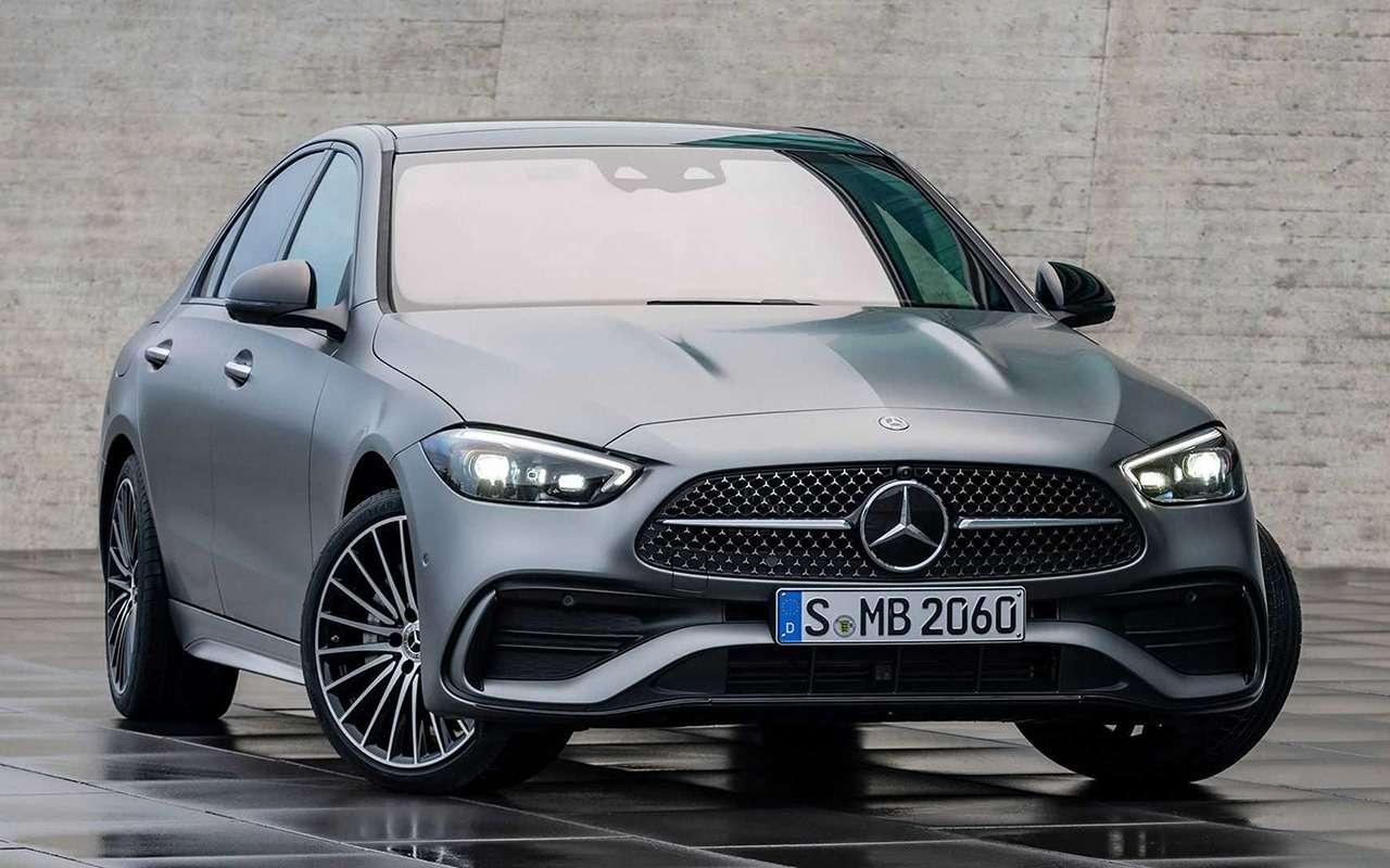 Новый Mercedes-Benz C-класс: lite-версия «эски»— фото 1226024