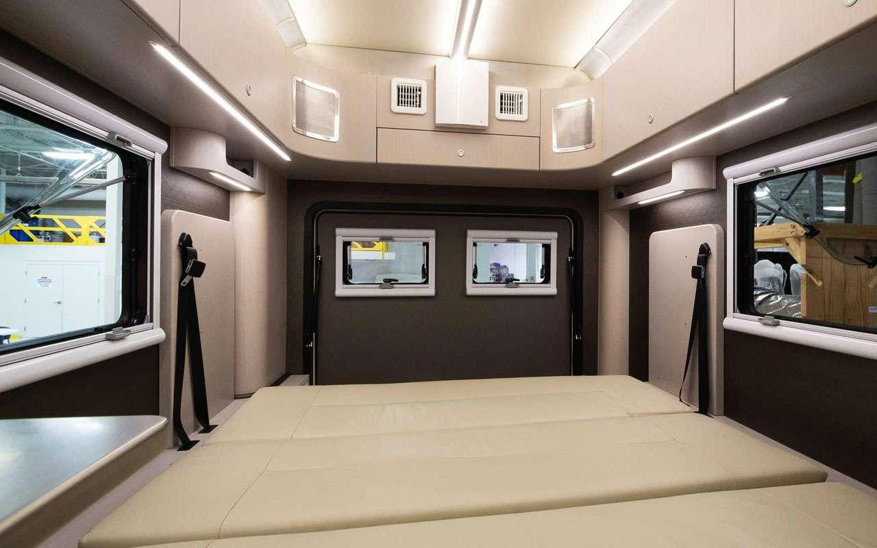 Квартира внутри... грузовичка. Без колес квартира дешевле!— фото 1198005