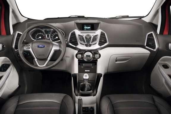 Ford EcoSport inside