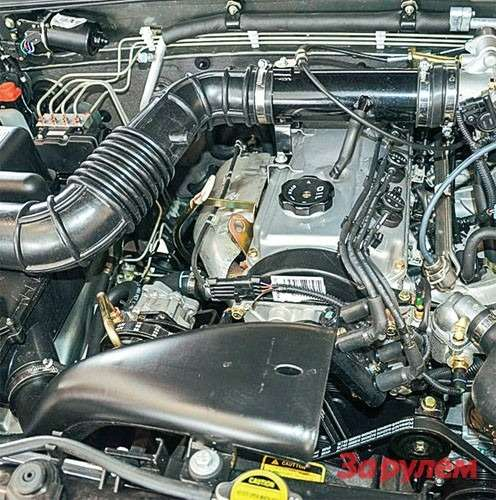 Great Wall Hover Проверенные временем бензиновые моторы «Мицубиси» семейства 4G внешне выглядят примерно одинаково.