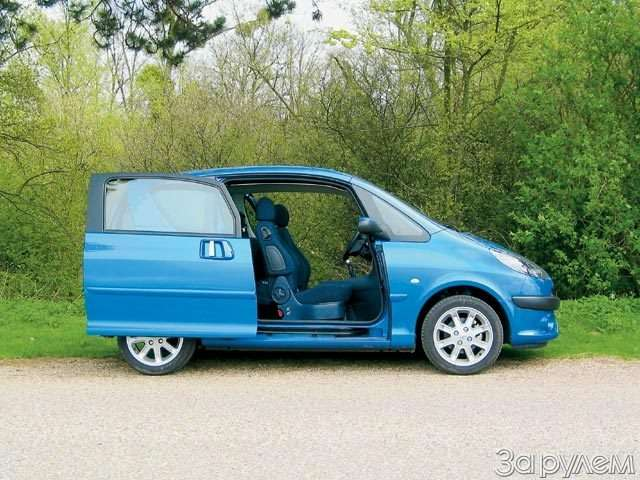 Peugeot 1007. Сезам открылся— фото 56408