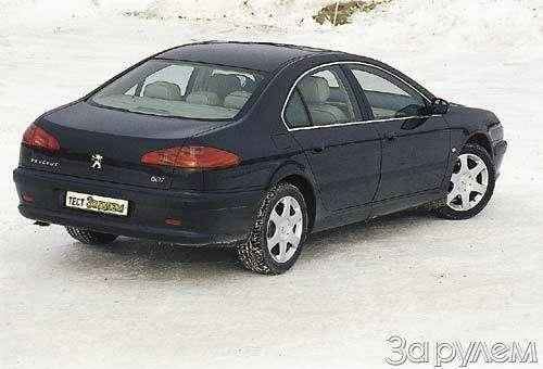 Peugeot 607. ВЫЗОВ ЗАУРЯДНОСТИ— фото 23619