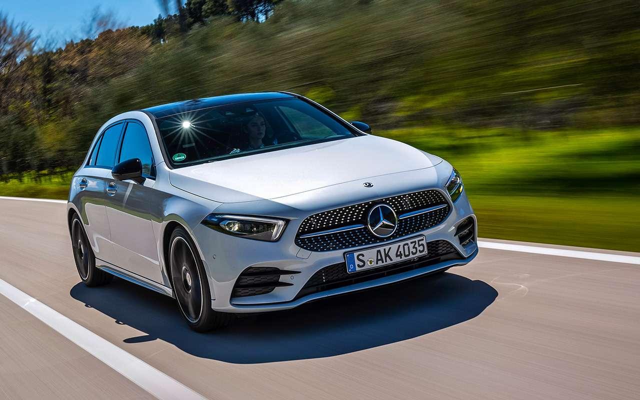 Mercedes-Benz А-класса: как большой— фото 876117