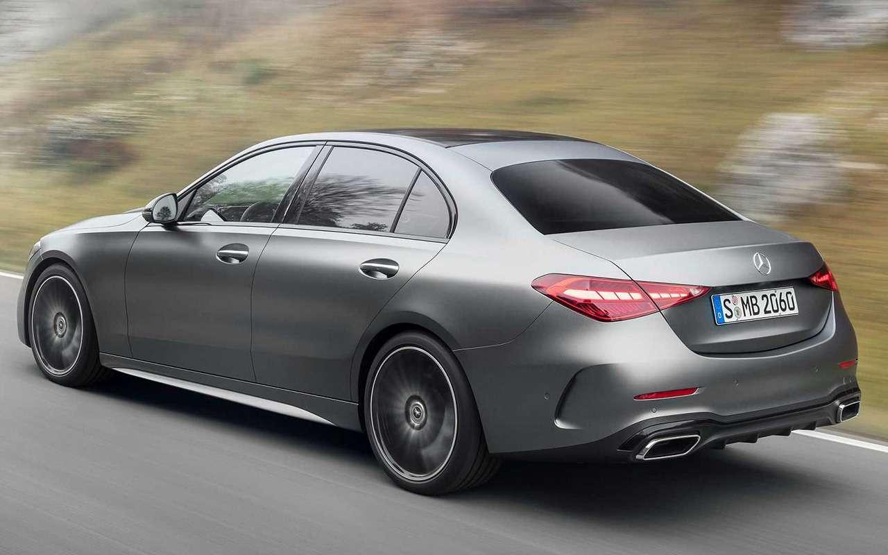 Новый Mercedes-Benz C-класс: lite-версия «эски»— фото 1226026