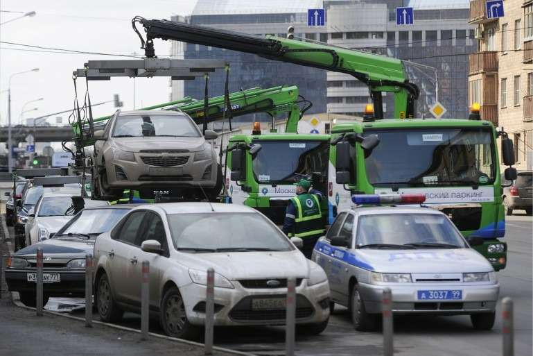 В Москве пройдет авто-флешмоб против платной эвакуации