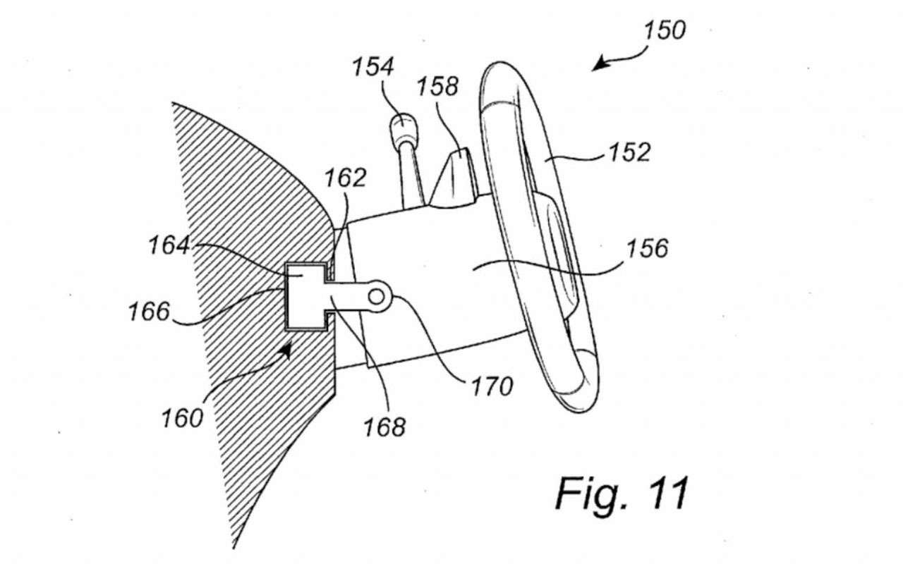 Запатентовано сдвижное рулевое колесо— фото 1182650