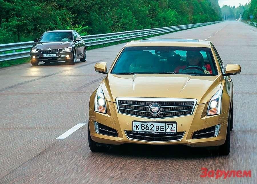 Cadillac ATS vsBMW 3-й серии: обыграть Баварию— фото 258689
