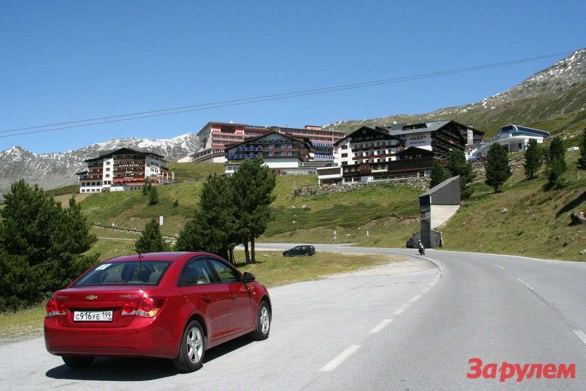 Австрия— индустрия горнолыжного отдыха.
