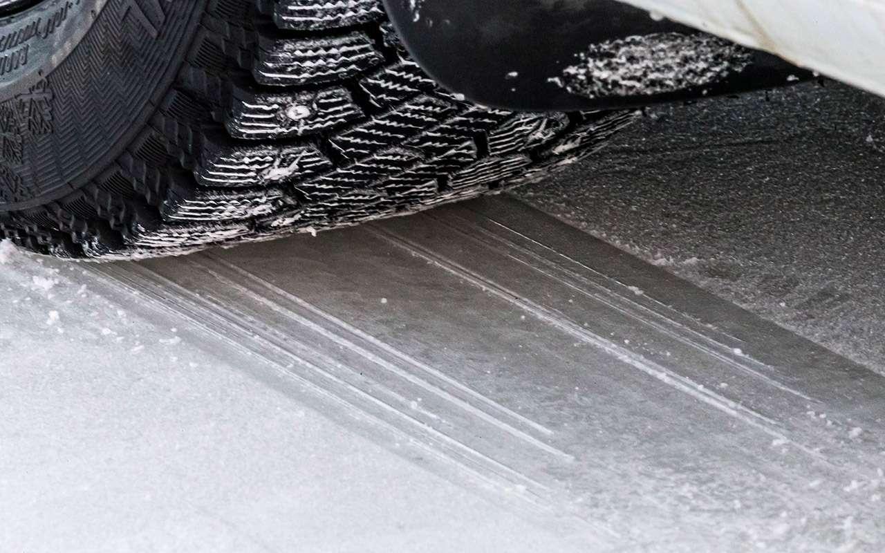 Большой тест шипованных шин: дорогие, подешевле и«никакие»— фото 1003246