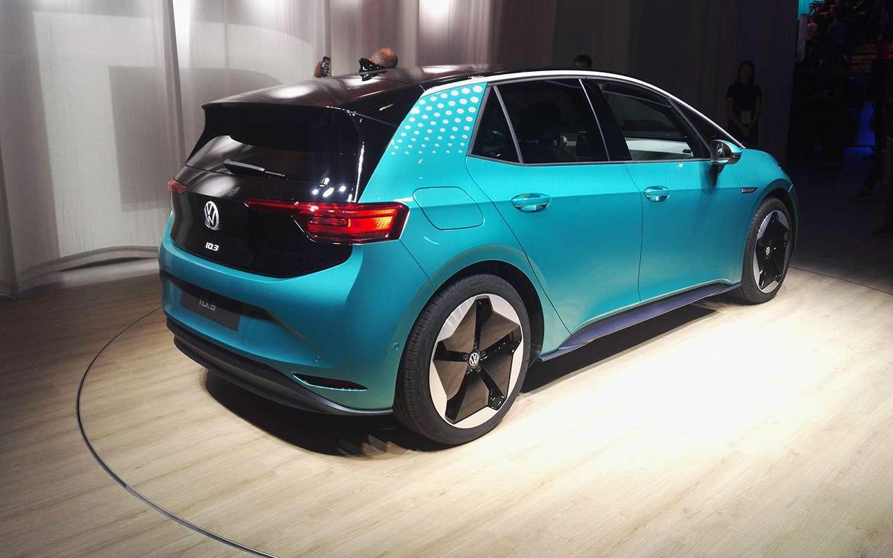 Volkswagen ID.3— запас хода 550км ибесплатная зарядка— фото 995239
