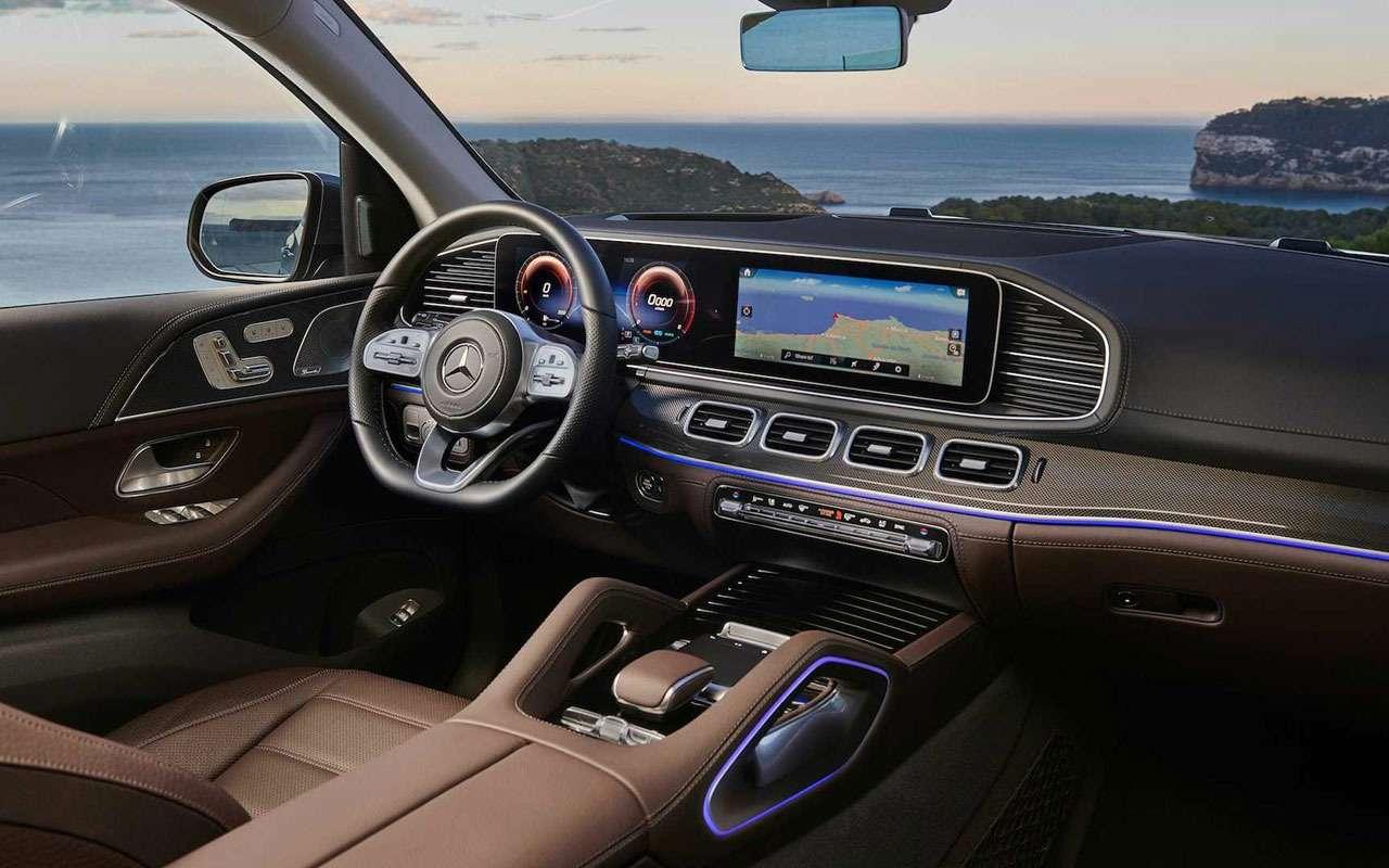 Новый Mercedes-Benz GLS: салон на7, двигатель на8— фото 967450