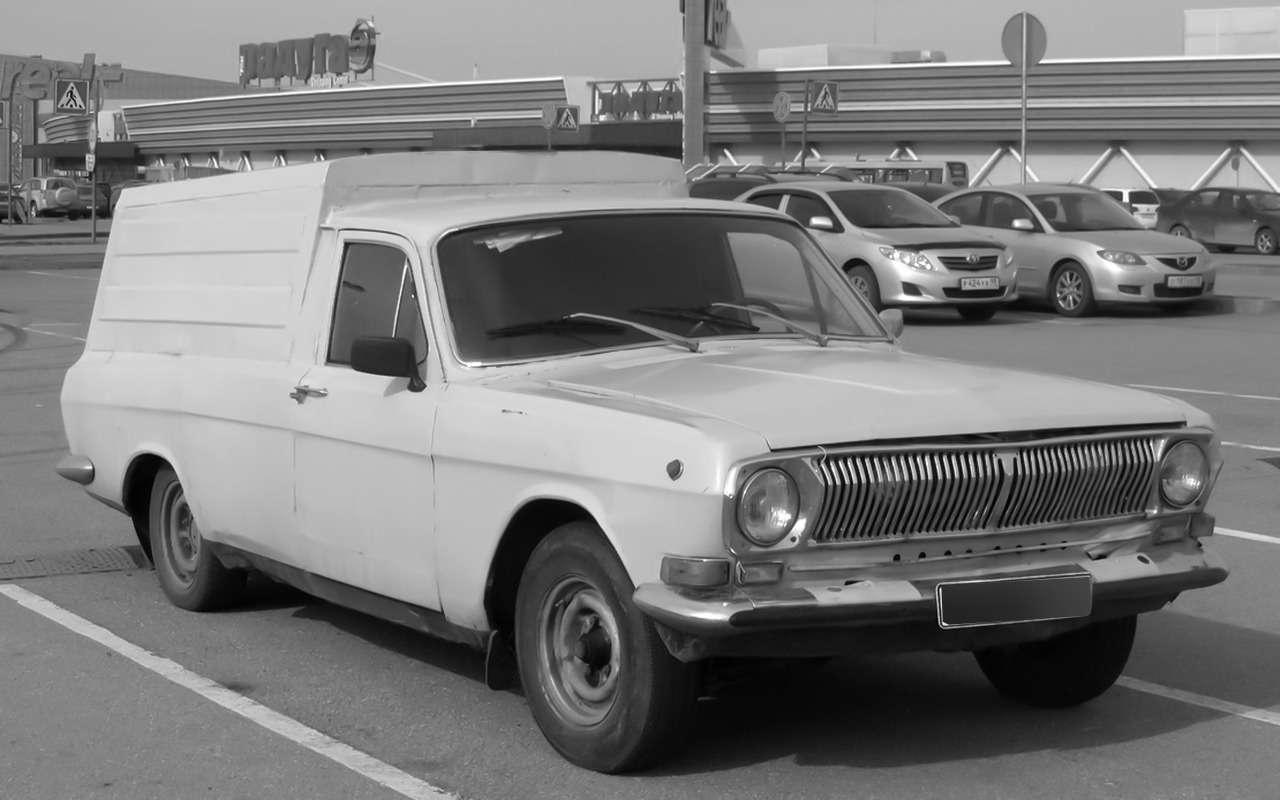 Неизвестная Волга — 15редчайших версий ГАЗ-24— фото 988786