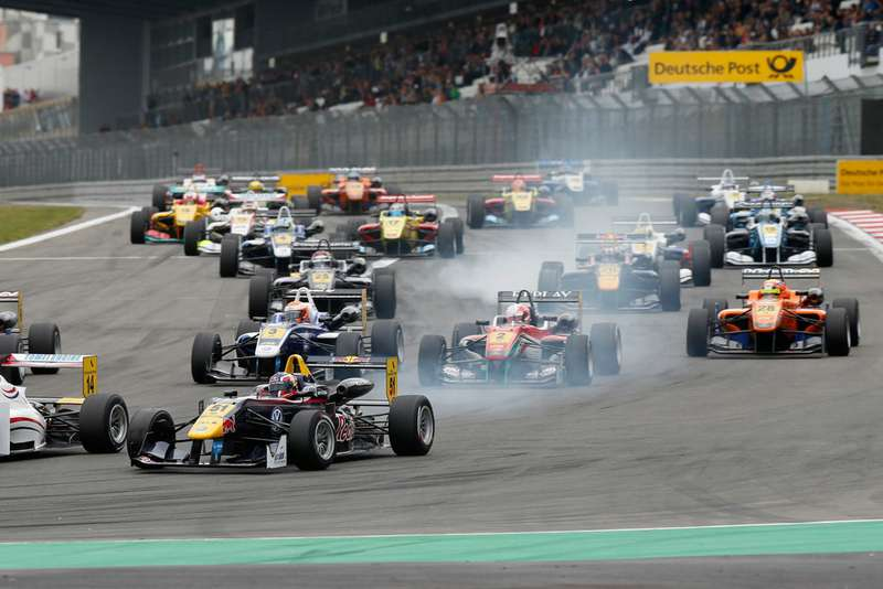 FIAFormula 3European Championship, round 7, race 3, Nuerburgring (D)