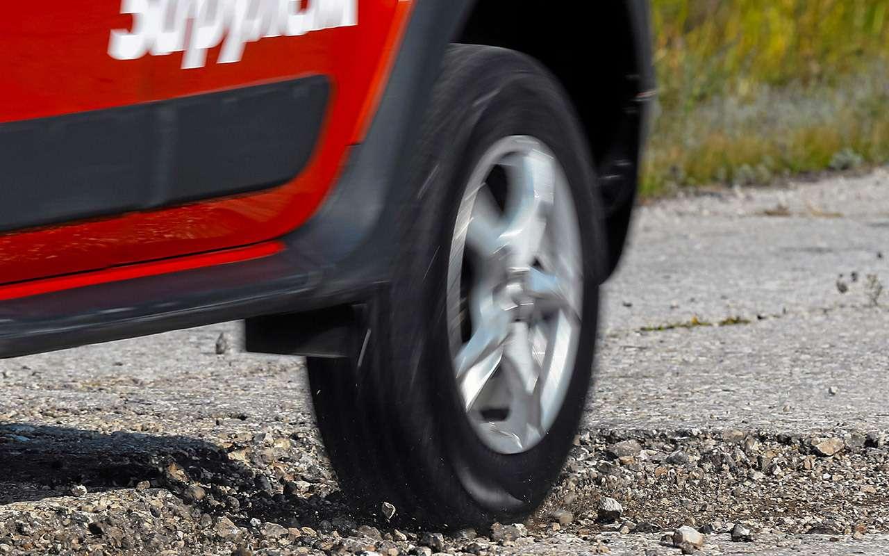 Тест летних шин длякроссоверов. Результаты удивляют— фото 969193