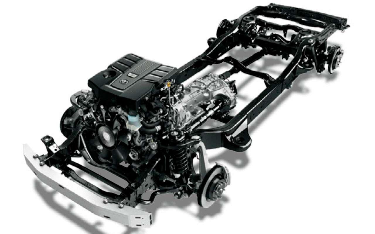 Раскрыт секрет особой подвески нового Toyota LC300— фото 1267110
