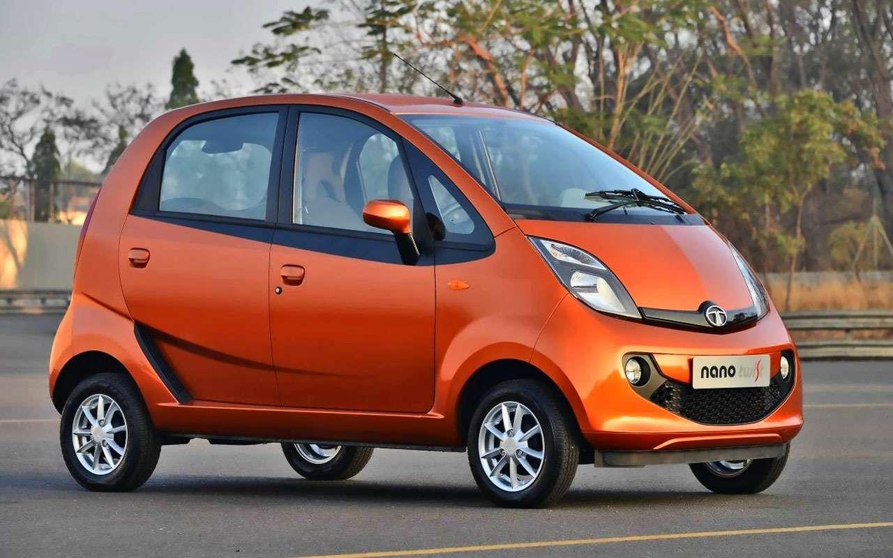 Мелочь пузатая: самые миниатюрные автомобили— фото 811679