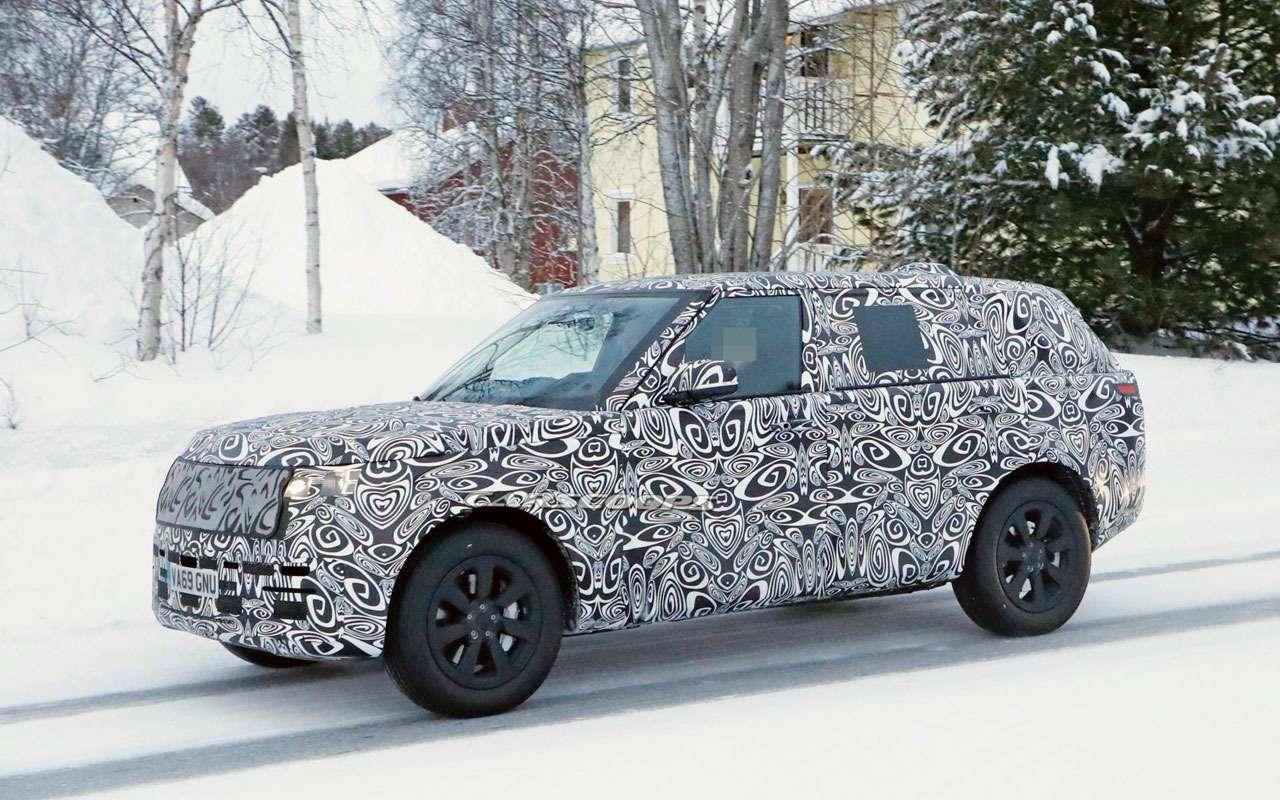 Новый Range Rover: очередной этап испытаний— фото 1119944