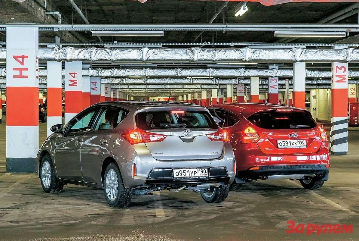 Toyota Auris, Ford Focus