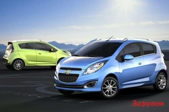 2013new Chevrolet Spark mini-car
