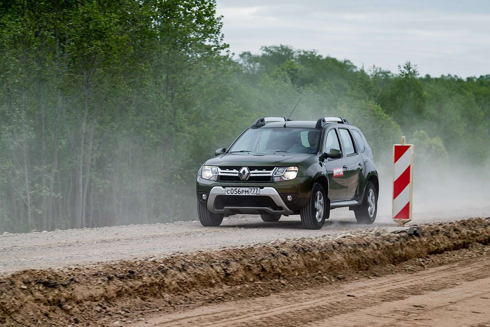 Renault Duster навоенном полигоне идорогах Прибалтики— фото 613431