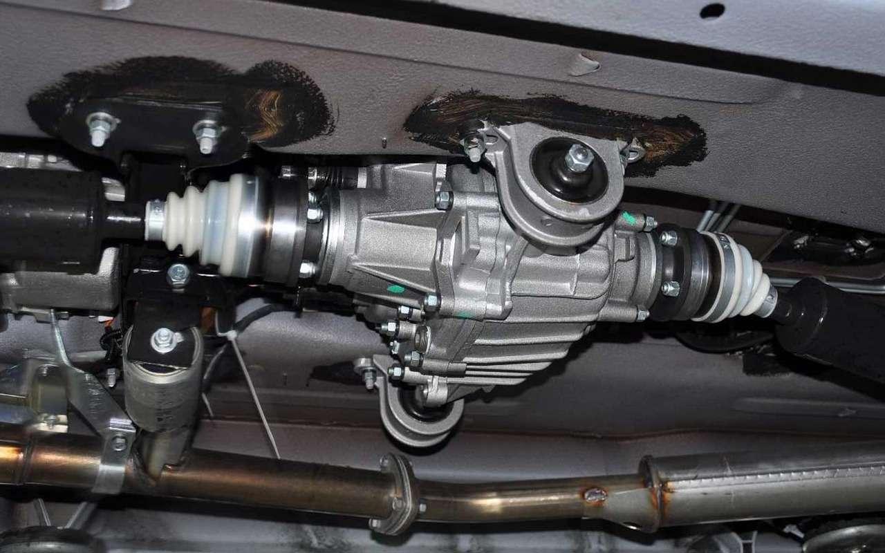Lada 4x4: лучшее, что сней произошло за42года— фото 961009