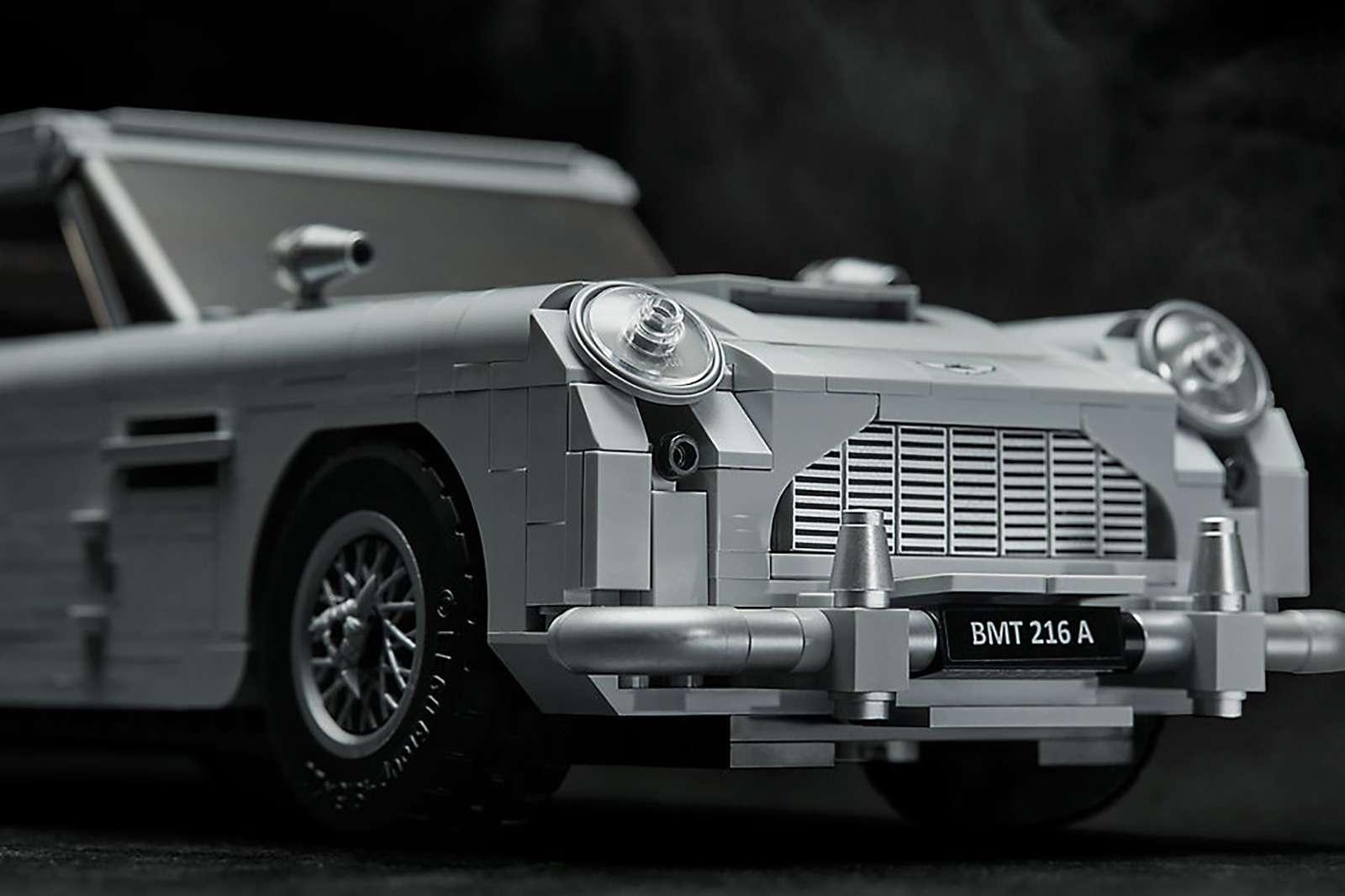 Хочешь машину как у Джеймса Бонда? Собери ее сам! — фото 888209