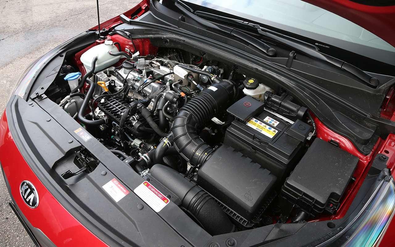 Новый кроссовер Kia: тест-драйв двух версий XCeed— фото 1141311