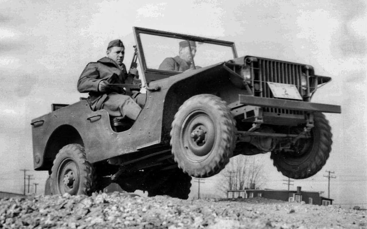 Самый популярный автомобиль войны: все факты оWillys MB— фото 972666