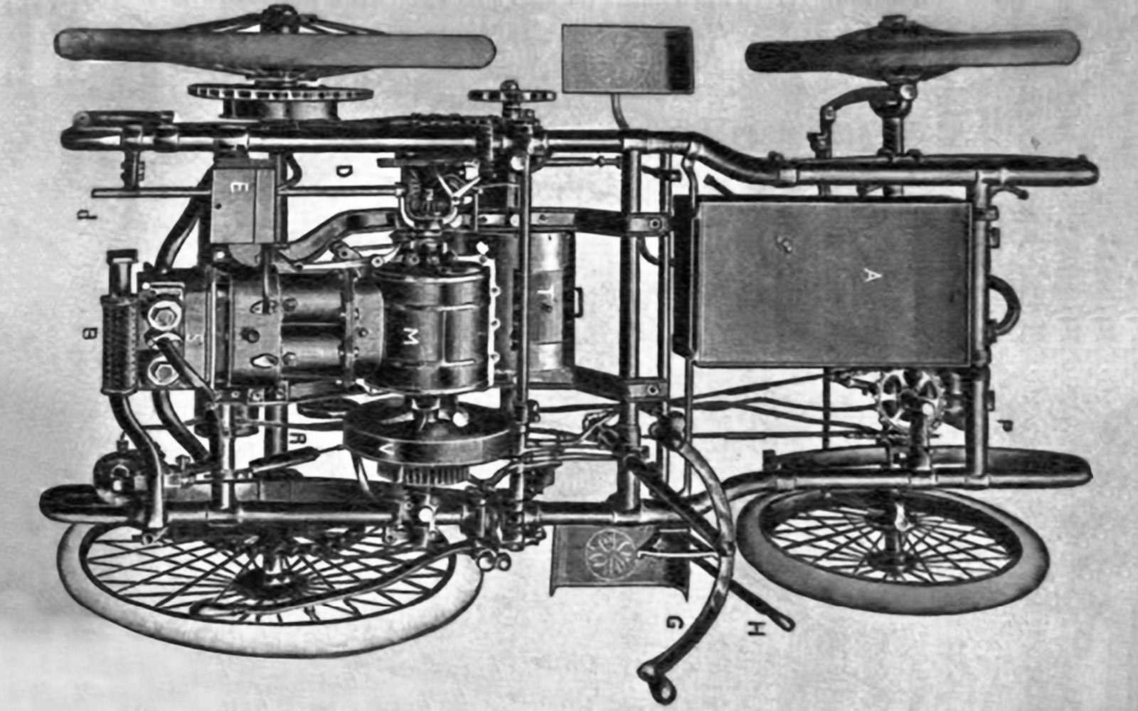 Вспоминаем первые автомобили: прелюдия длятелеги смотором— фото 694127