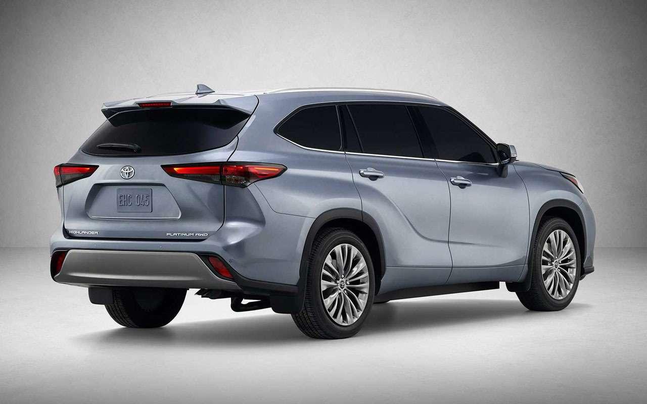 Новый Toyota Highlander: продажи вРоссии будут— фото 1091270