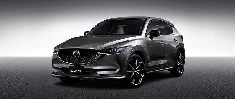 Высокий стиль: кроссоверы Mazda CX-3и CX-5 облачились вновые «доспехи»