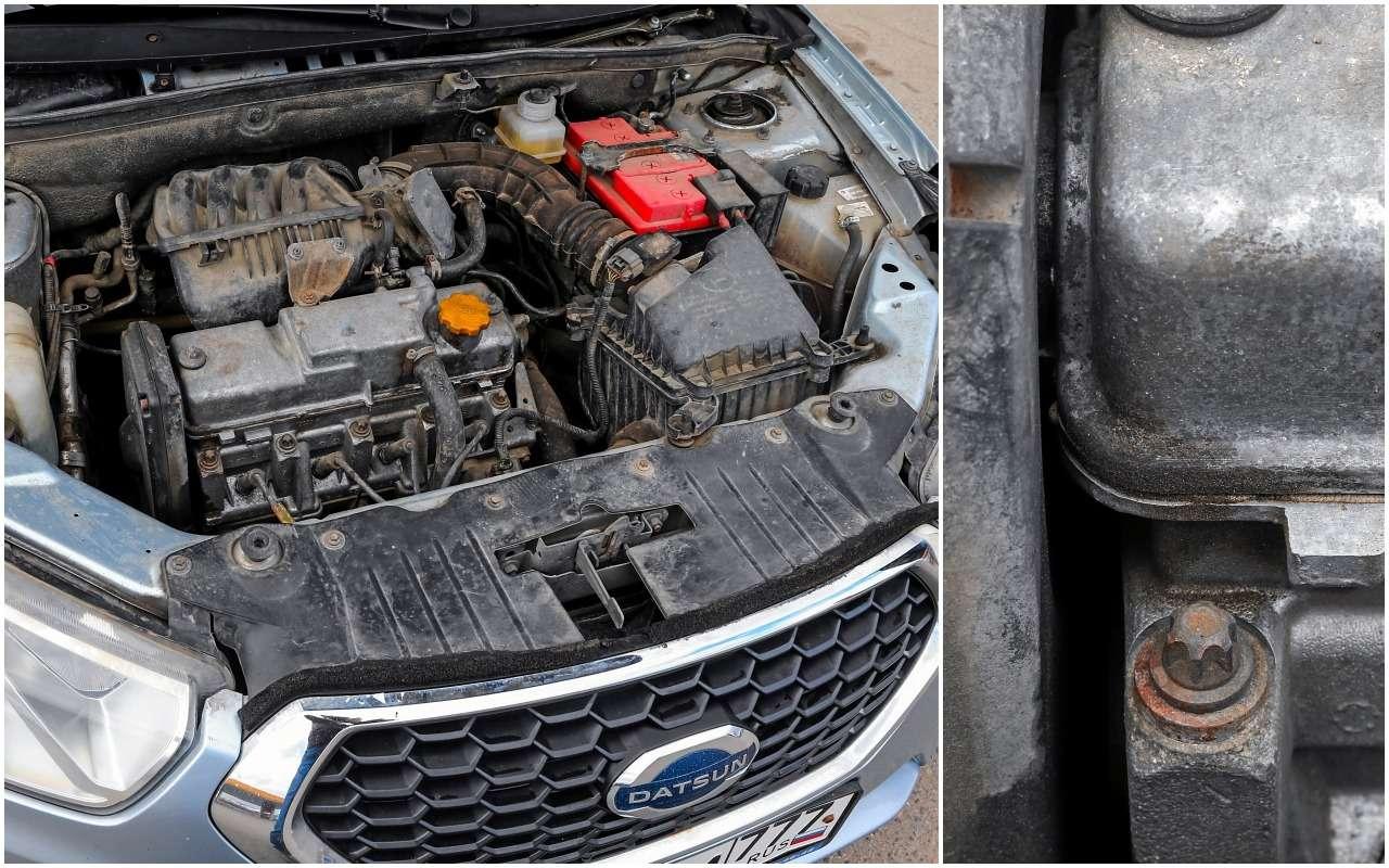 Datsun mi-DO после 75000км: перечень крупных имелких косяков— фото 1139287