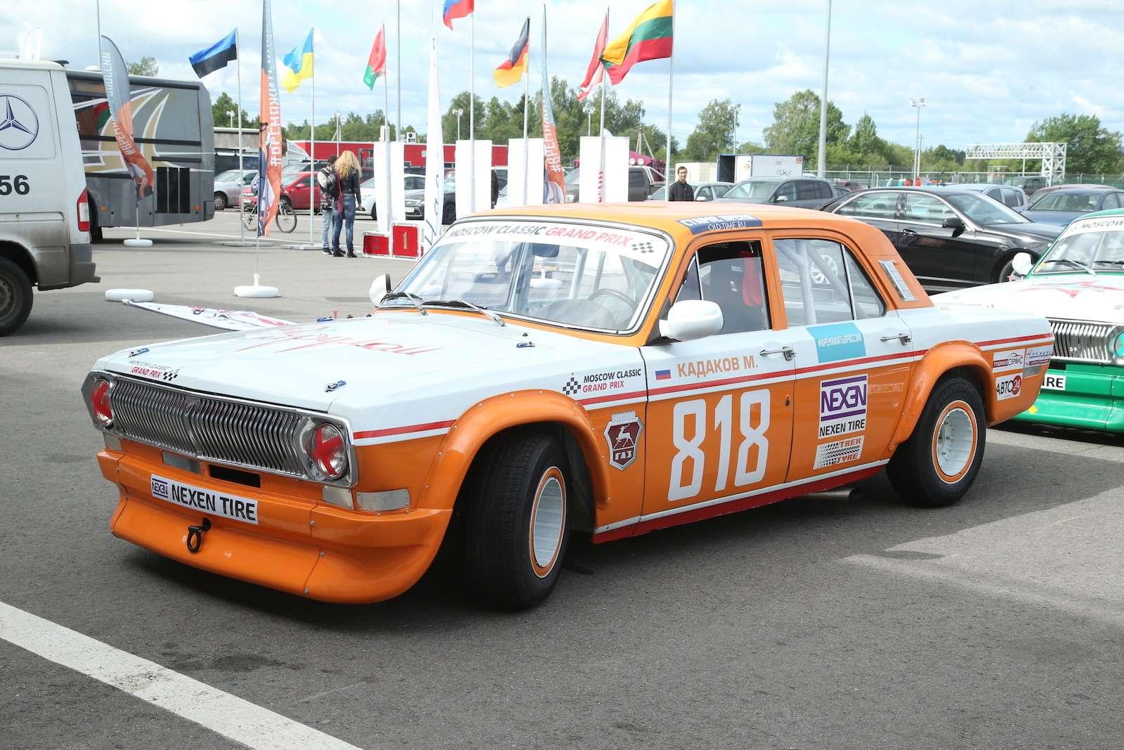 Болид ГАЗ-24«Зарулем» наMoscow Classiс Grand Prix— фото 608330