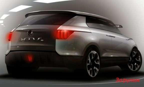 SsangYong XIV-1teaser side-rear view