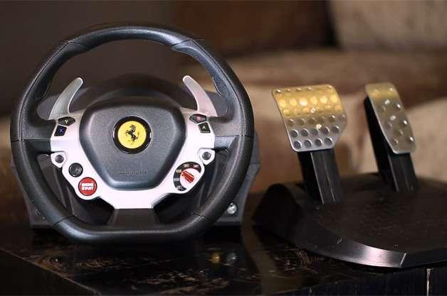 nocopyright Xbox One Ferrari wheel